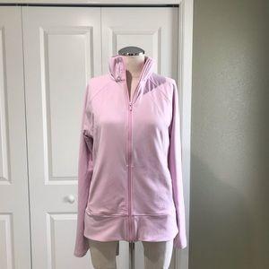 🌸 Pink ADIDAS Climalite Zip Jacket Medium 🌸